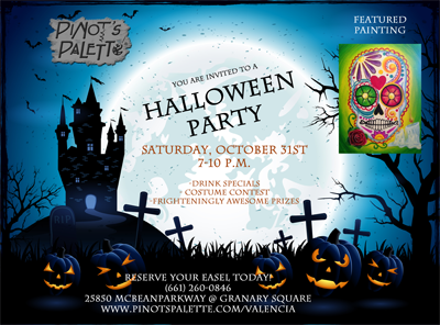 Party with us on Halloween