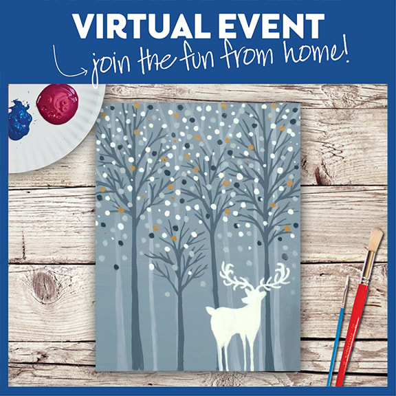 VIRTUAL EVENT- PAINT AT HOME!