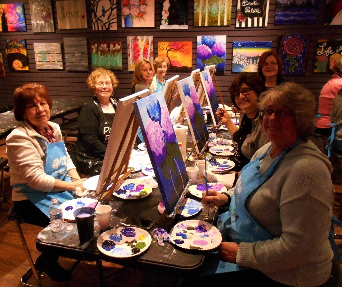 collaborative art classes in Wayne NJ