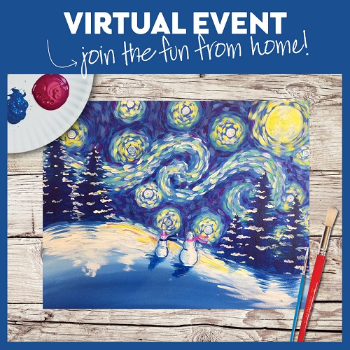 A Snowy Night -  Live Virtual Event or Watch Recording Later