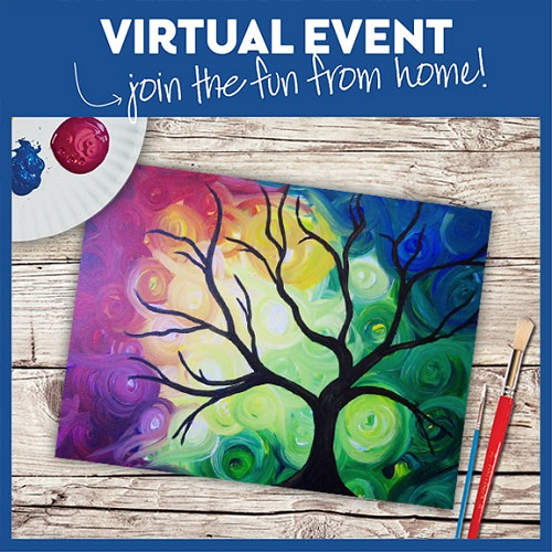 Colorful Swirly Sky  -  Live Virtual Event or Watch Recording Later