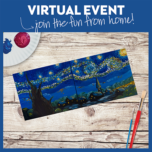 Date Night Starry Night  -  Live Virtual Event or Watch Recording Later