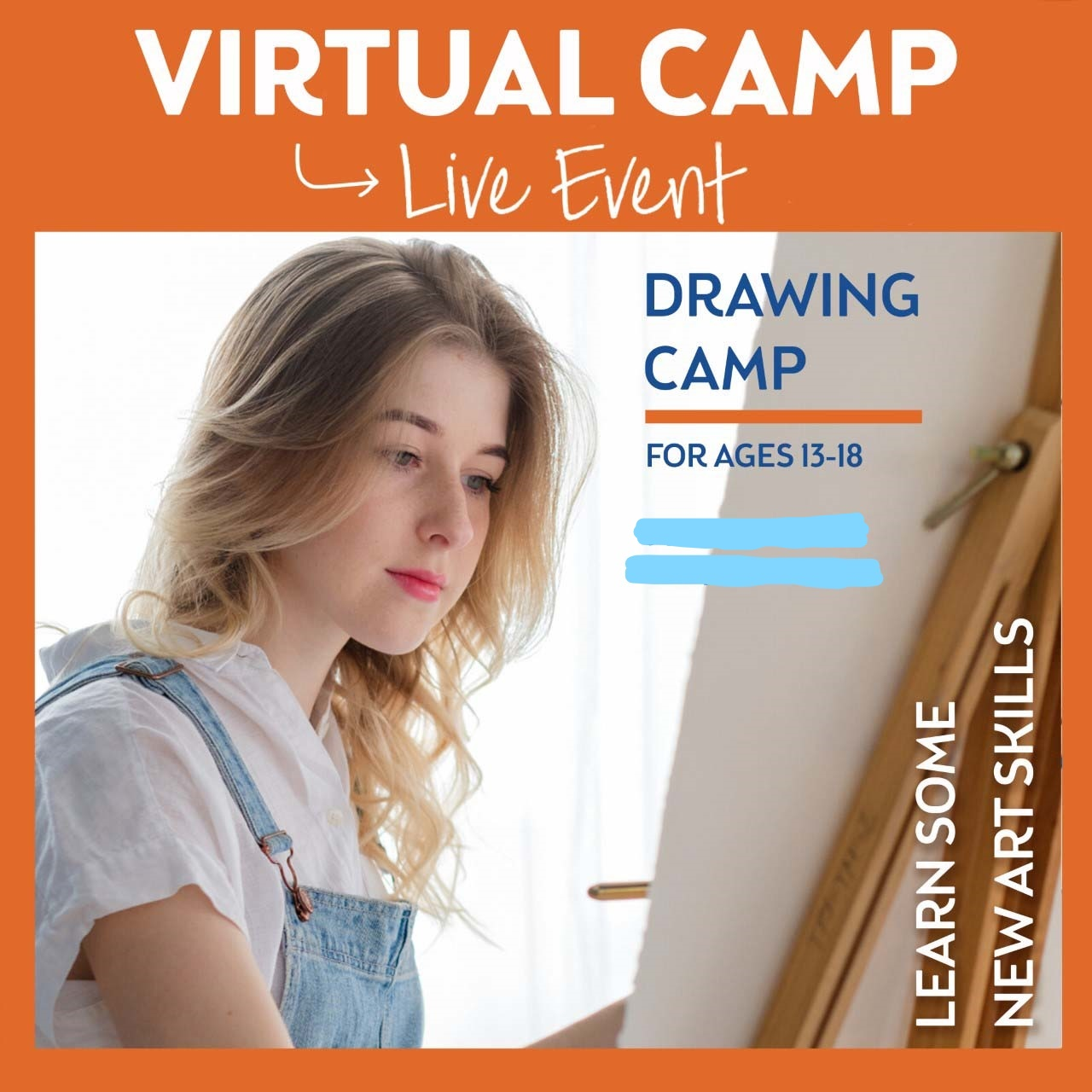 Ages 13-18 - Week 3 - Virtual Summer Art Series