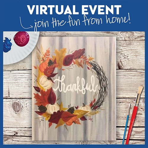 Festive and Thankful -  Live Virtual Event or Watch Recording Later