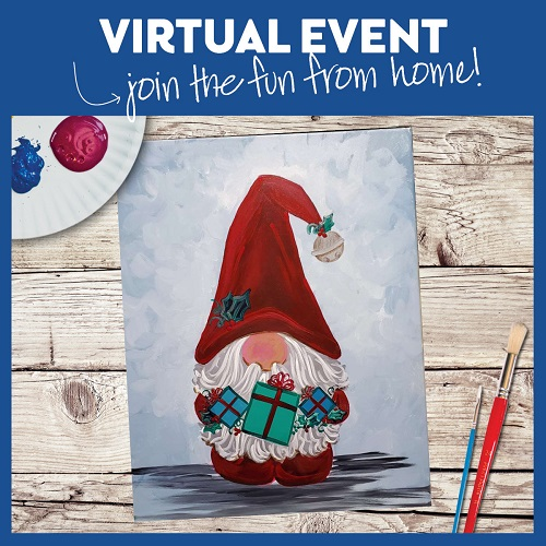 Festive Gnome -  Live Virtual Event or Watch Recording Later