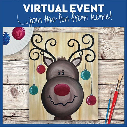 Hanging With Rudolph  -  Live Virtual Event or Watch Recording Later