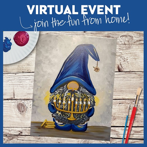 Hanukkah Gnome -  Live Virtual Event or Watch Recording Later