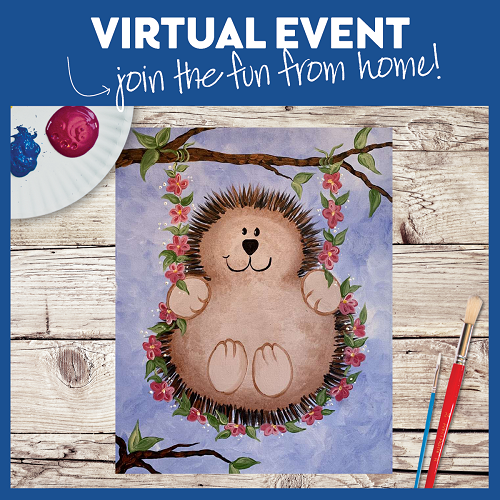 Hedgehog Fun  -  Live Virtual Event or Watch Recording Later