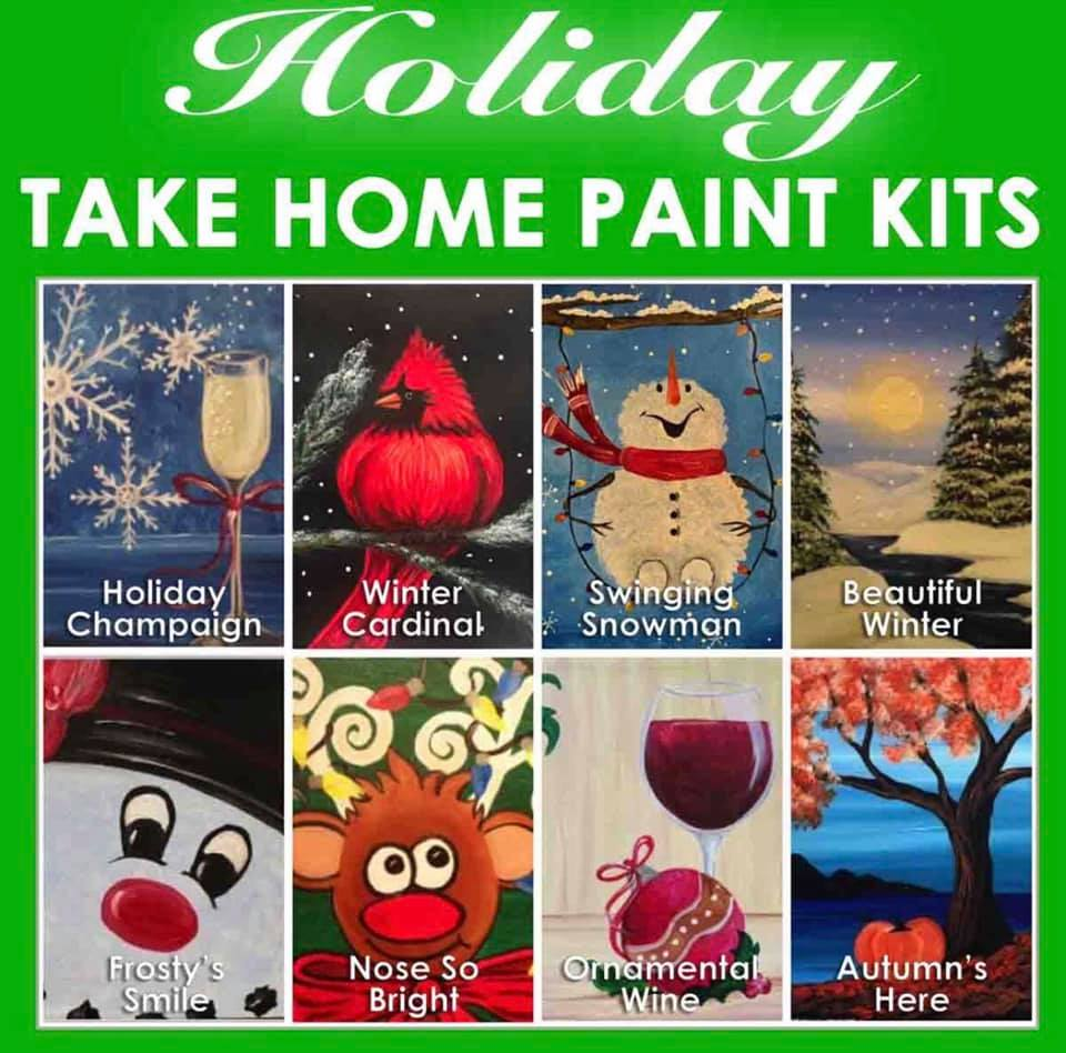 Take Home Paint Kits  - 100+ Options - Free Local Delivery