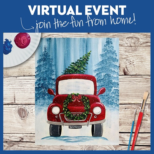 Holiday Vintage Truck -  Live Virtual Event or Watch Recording Later