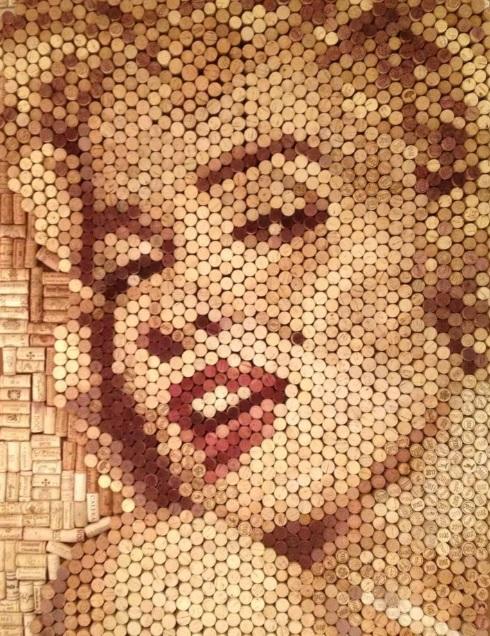 Merilyn Monroe, by Conrad Engelhardt