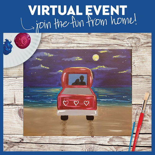 Midnight on the Beach -  Live Virtual Event or Watch Recording Later