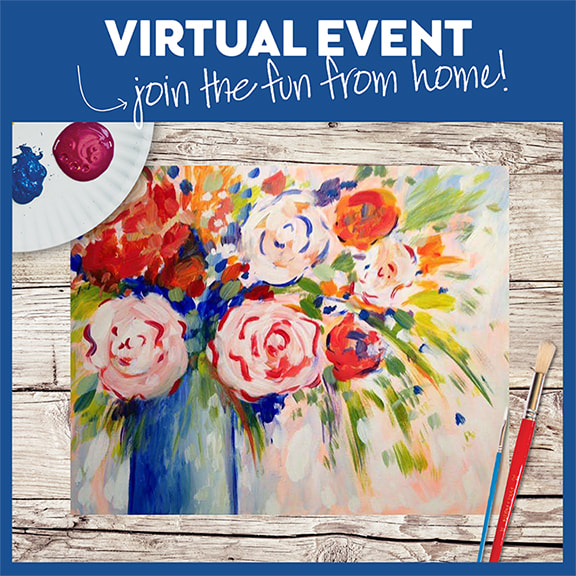 Pinot's Poppin' Peonies  -  Live Virtual Event or Watch Recording Later