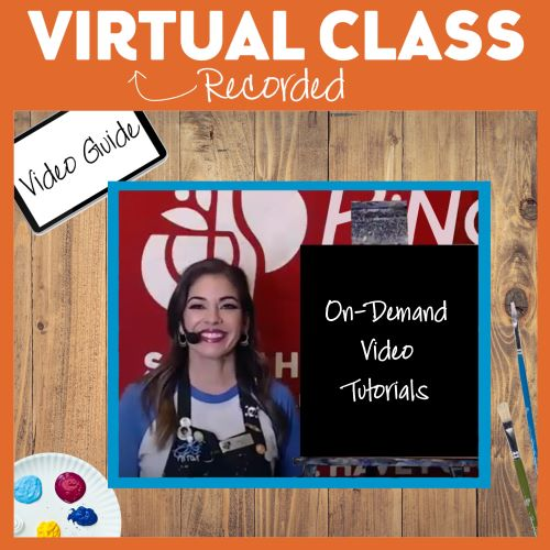 On Demand Video Classes  -  All Supplies Included & Free Local Delivery