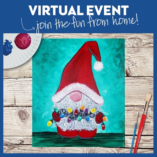 Santa Gnome -  Live Virtual Event or Watch Recording Later
