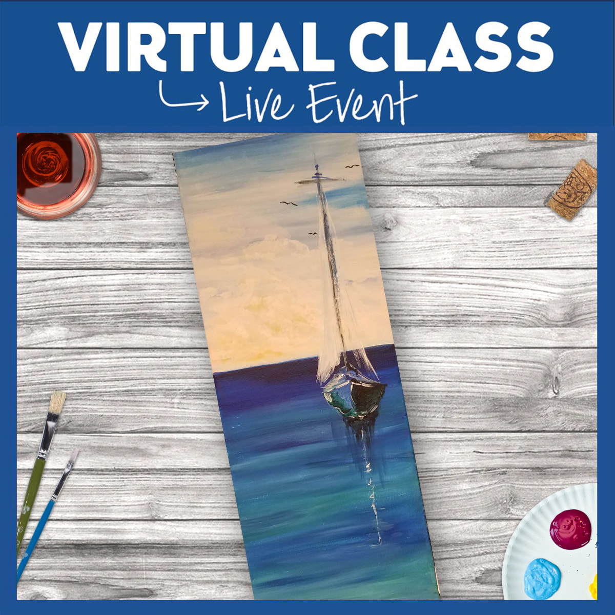 Seas the Day -  Live Virtual Event or Watch Recording Later
