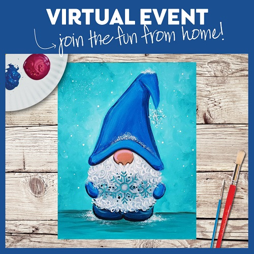Snowflake Gnome -  Live Virtual Event or Watch Recording Later