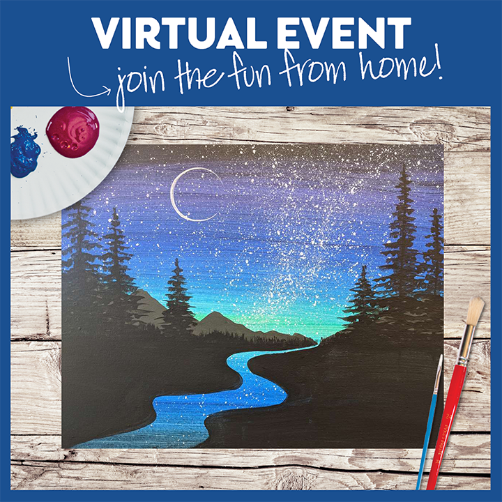 Stardust River  -  Live Virtual Event or Watch Recording Later