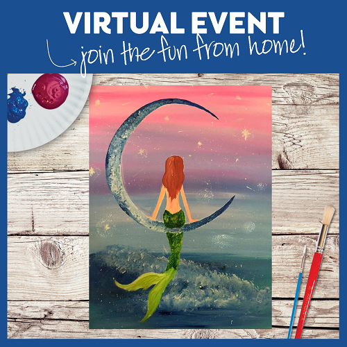 Twinkle Twinkle Little Mermaid  -  Live Virtual Event or Watch Recording Later