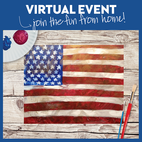 Vintage Flag -  Live Virtual Event or Watch Recording Later
