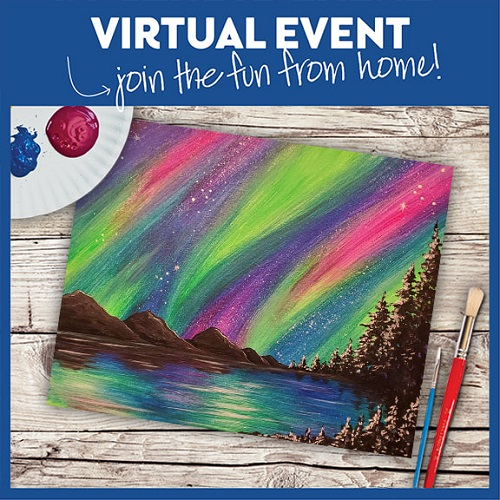 Vivid Aurora Night -  Live Virtual Event or Watch Recording Later