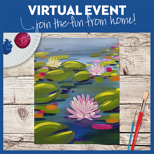 Water Lilies in Mod -  Live Virtual Event or Watch Recording Later