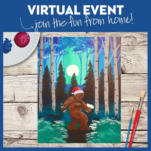 Wino Sasquatch Santa Hat Edition -  Live Virtual Event or Watch Recording Later