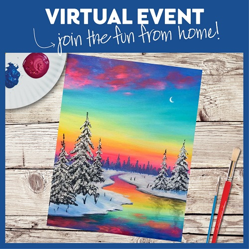 Winter Sunset -  Live Virtual Event or Watch Recording Later