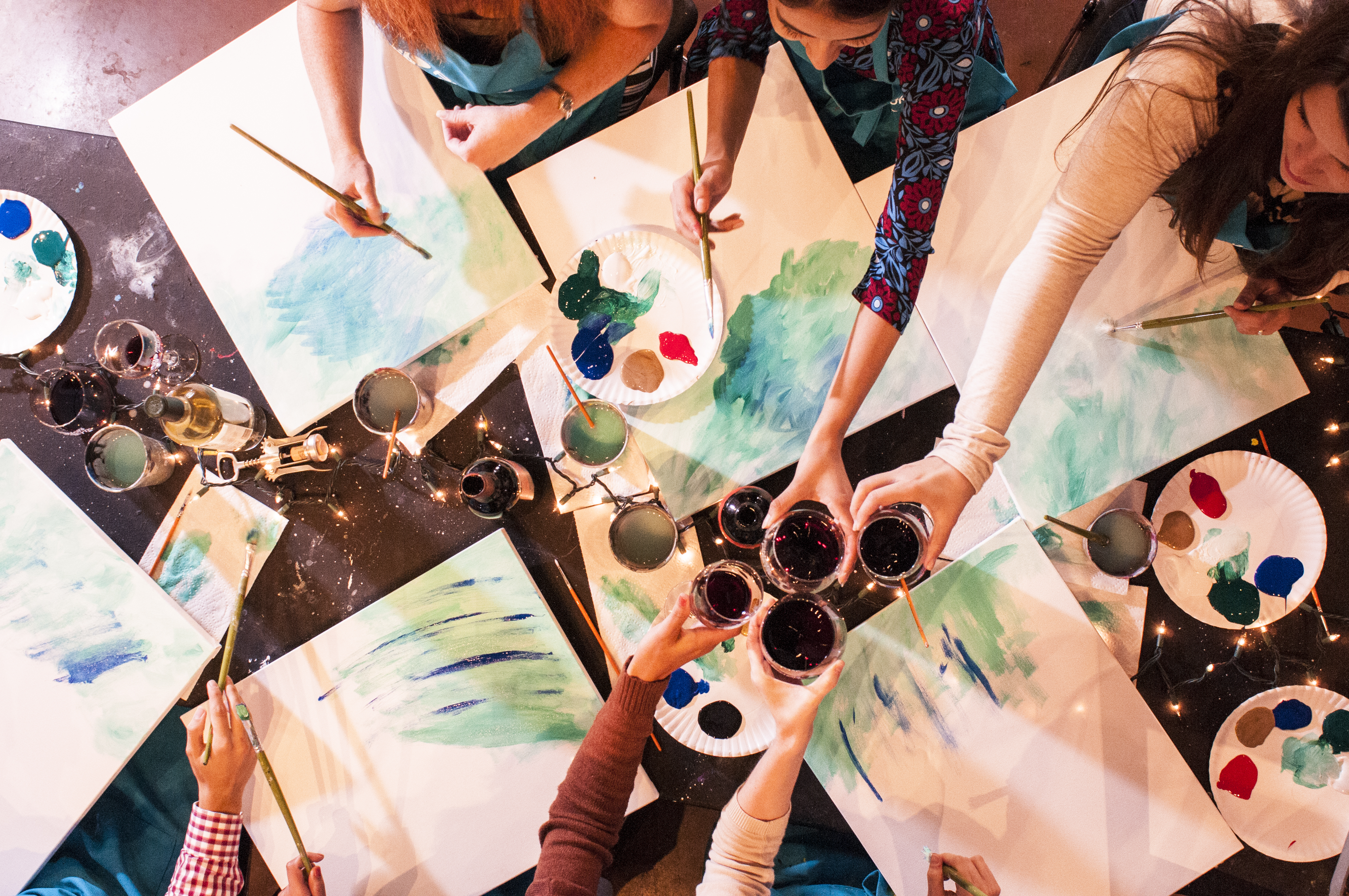 More than just Sipping & Painting!