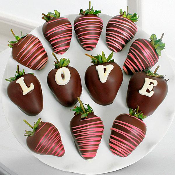 Wine, Chocolate, and Strawberries!