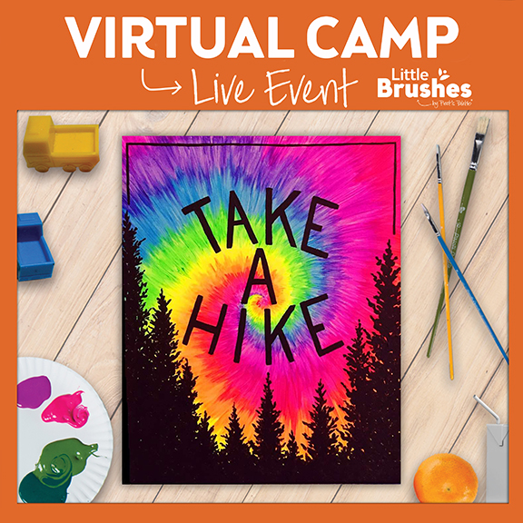 Kids' Live Virtual Painting Camp! 6 Years Or Older.