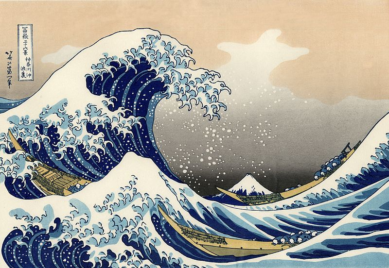 The Story Behind Hokusai's The Great Wave off Kanagawa