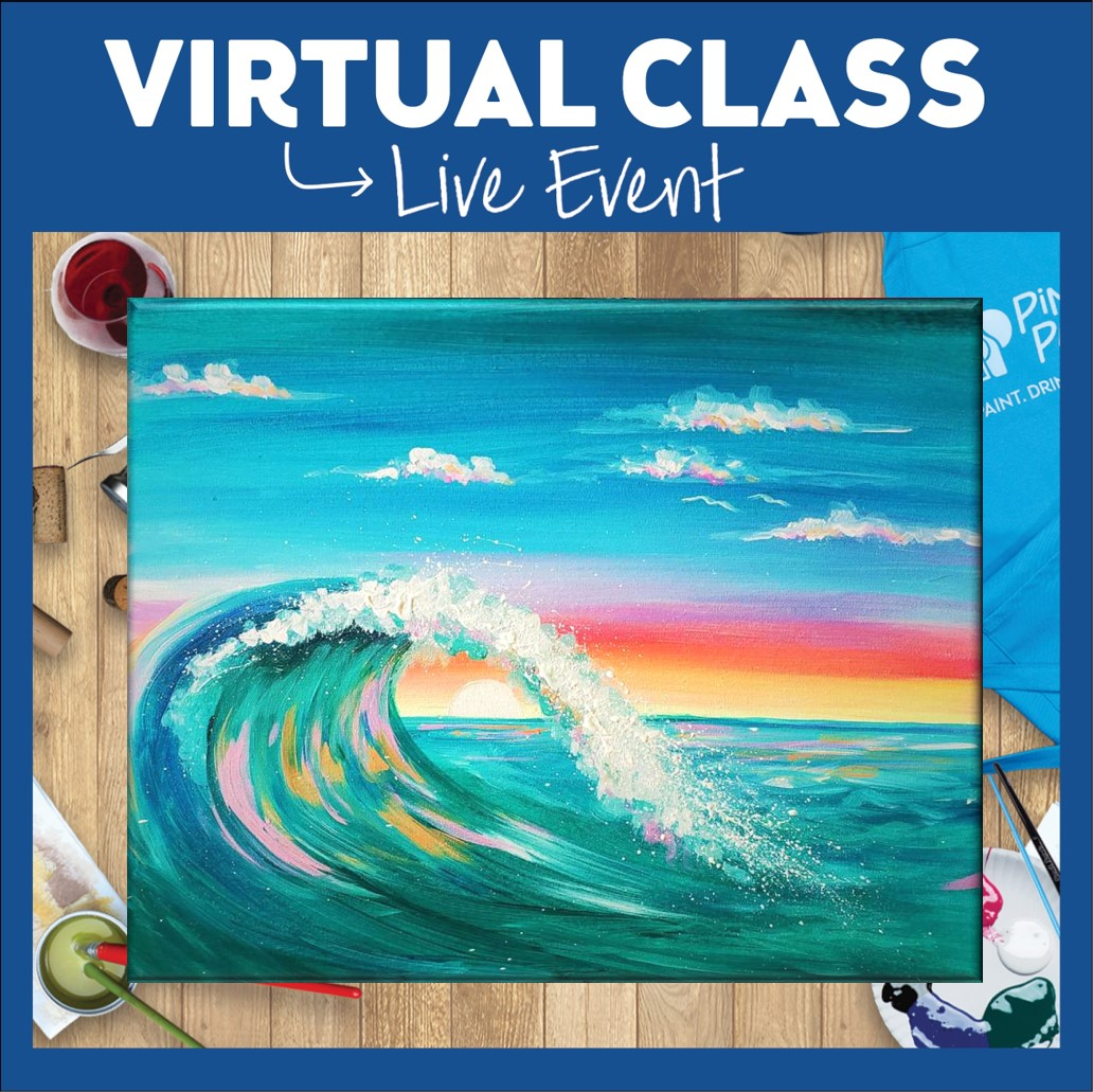 Live Virtual Class + Art Kit