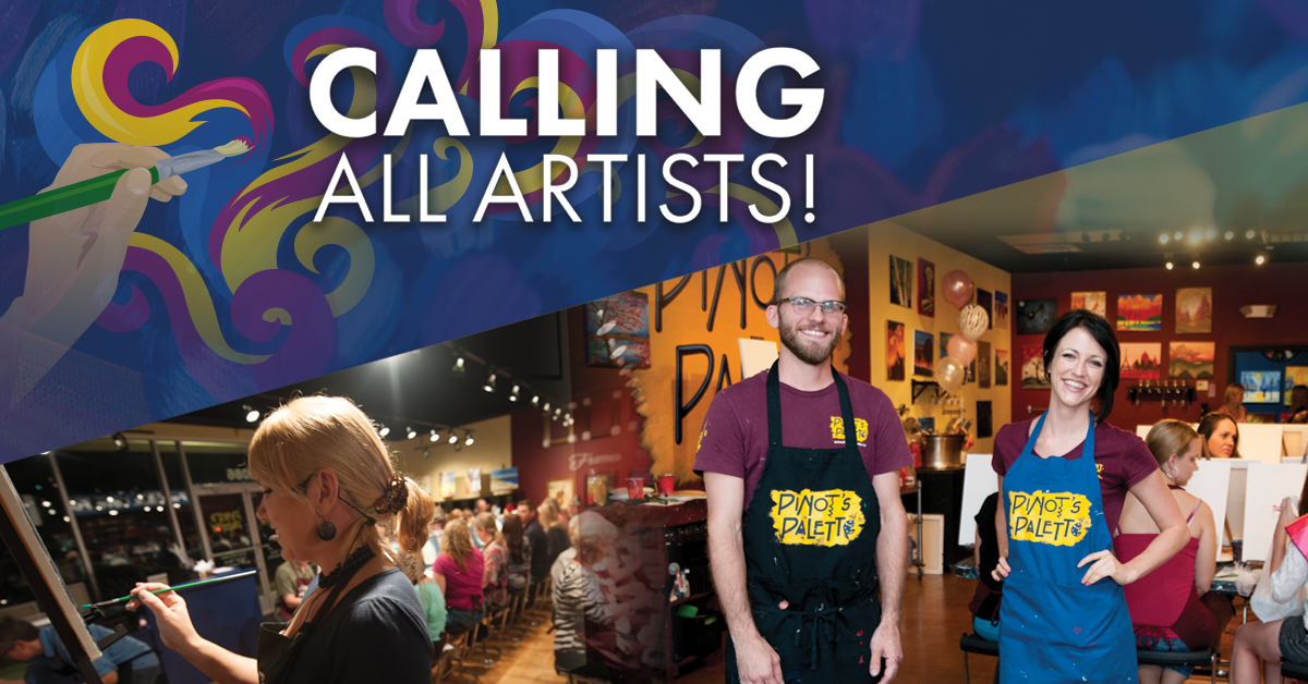 Now Hiring Fun and Entertaining Artist Instructors
