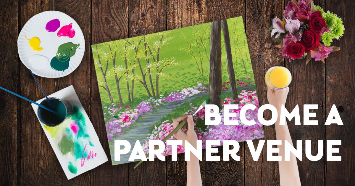 Become a Pinot's Palette Partner Venue