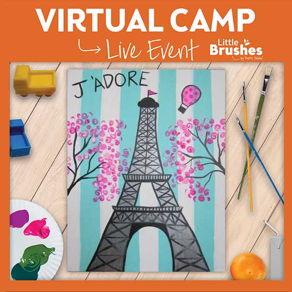 ONE DAY VIRTUAL CAMP: J'ADORE PARIS