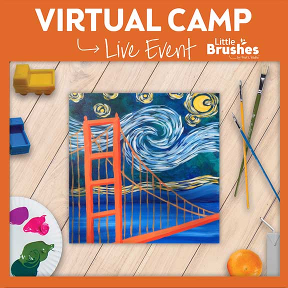 ONE DAY VIRTUAL CAMP: STARRY NIGHT OVER THE GATE