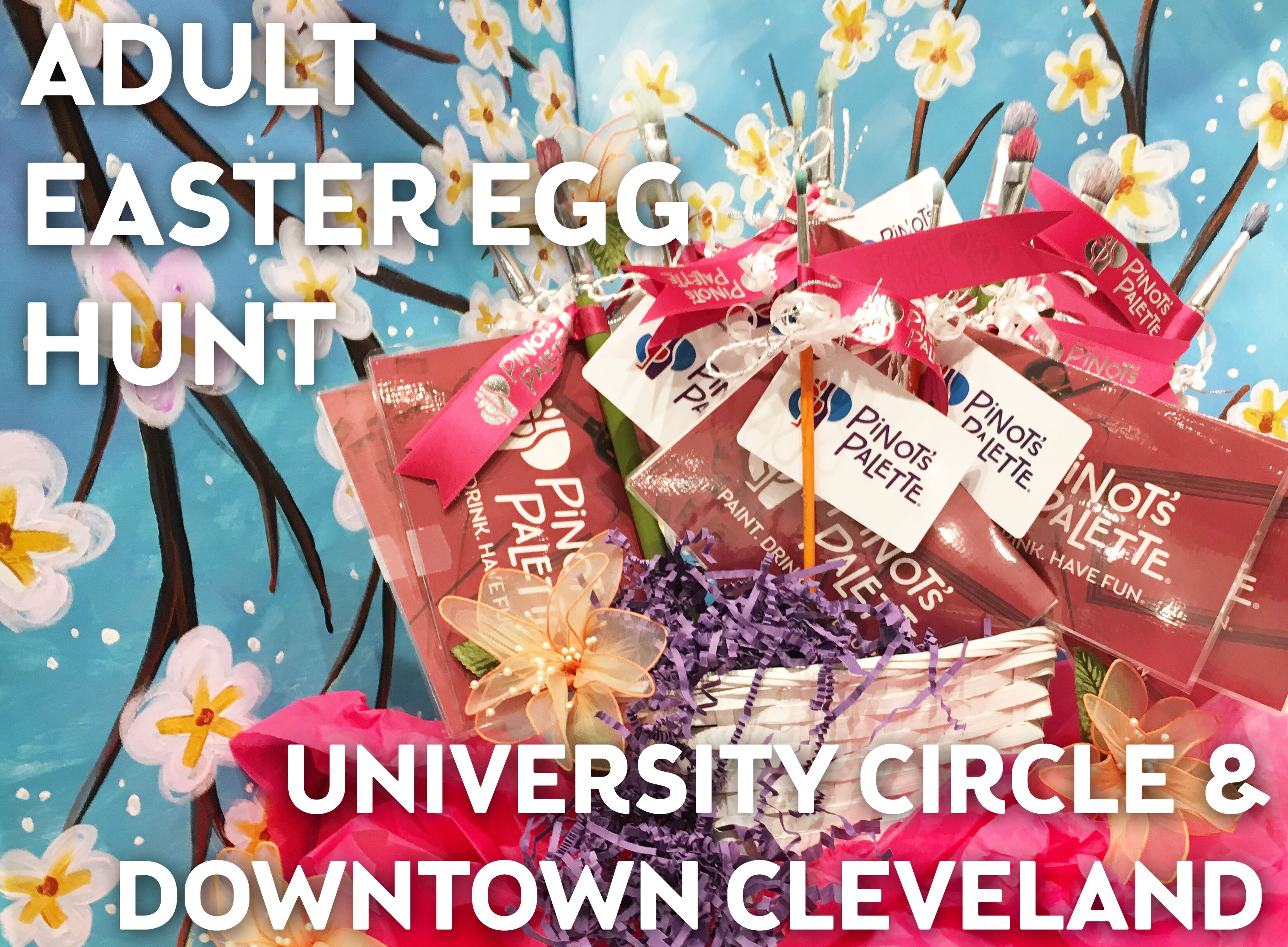 Adult Easter Egg Hunt - University Circle and Downtown Cleveland