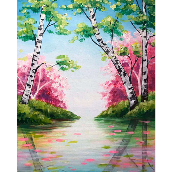 SPRING REFLECTIONS - CHOOSE YOUR CANVAS SIZE
